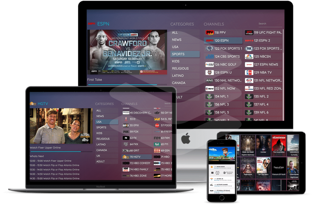 Setplex Norago IPTV Streaming Application available for various devices